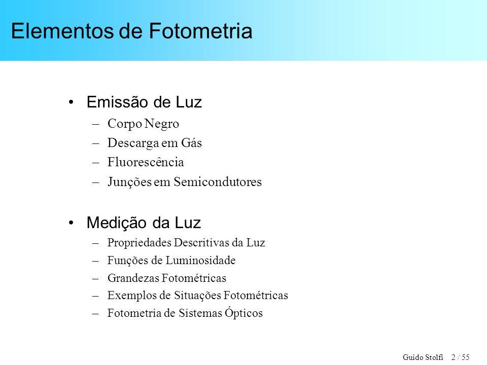 Elementos de Fotometria