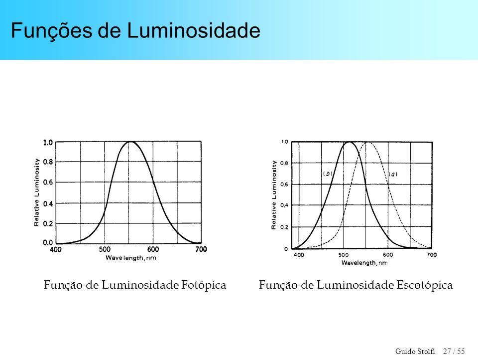 Funções de Luminosidade