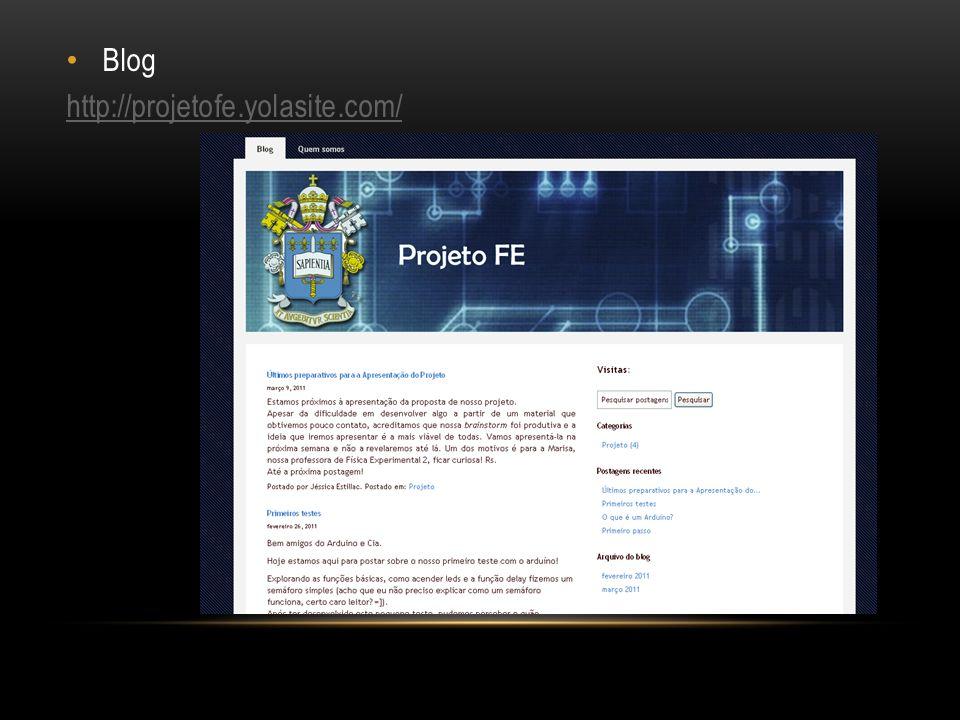 Blog http://projetofe.yolasite.com/