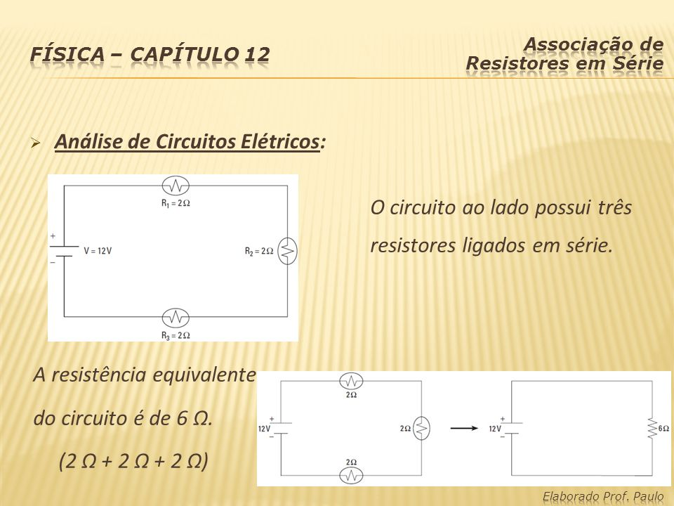 Análise de Circuitos Elétricos:
