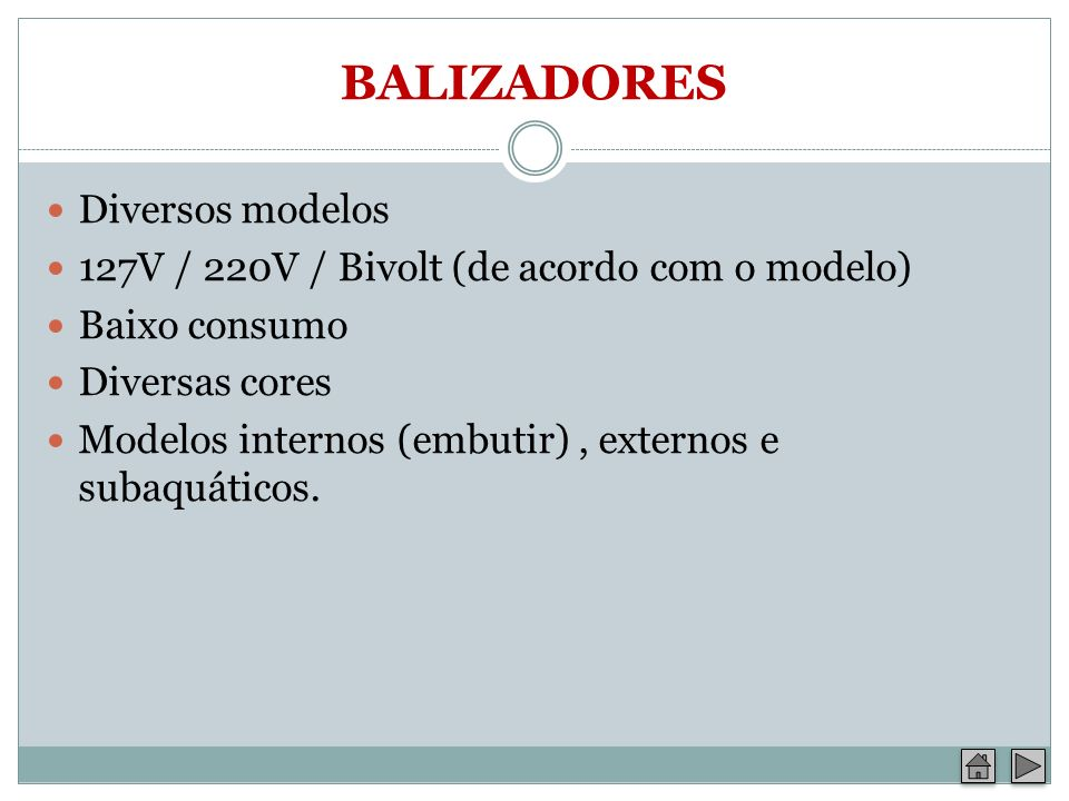 BALIZADORES Diversos modelos