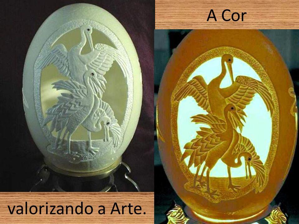A Cor valorizando a Arte.
