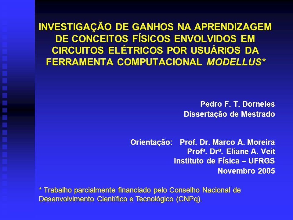 INVESTIGAÇÃO DE GANHOS NA APRENDIZAGEM DE CONCEITOS FÍSICOS ENVOLVIDOS EM CIRCUITOS ELÉTRICOS POR USUÁRIOS DA FERRAMENTA COMPUTACIONAL MODELLUS*