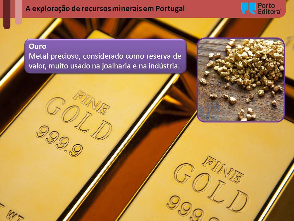 A exploração de recursos minerais em Portugal