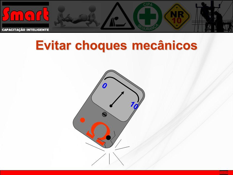 Evitar choques mecânicos