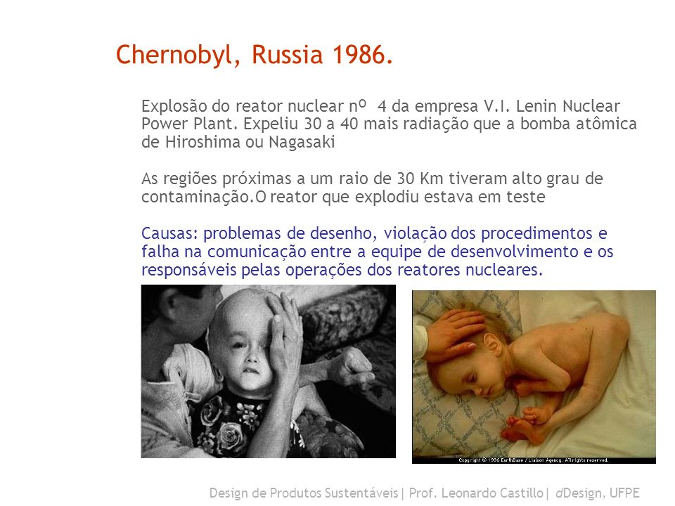 Chernobyl, Russia 1986.