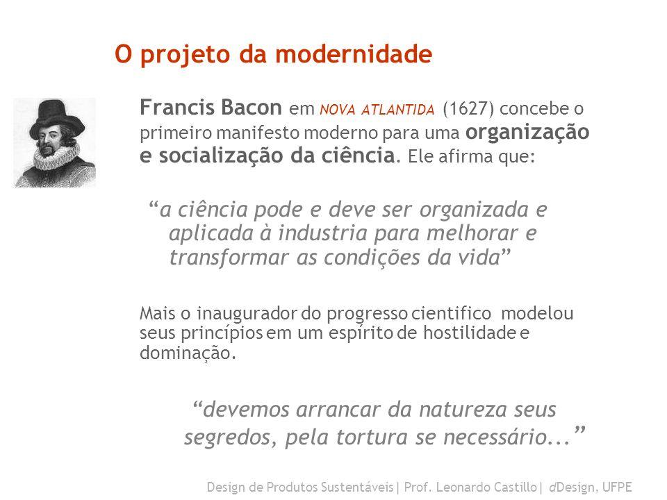 O projeto da modernidade