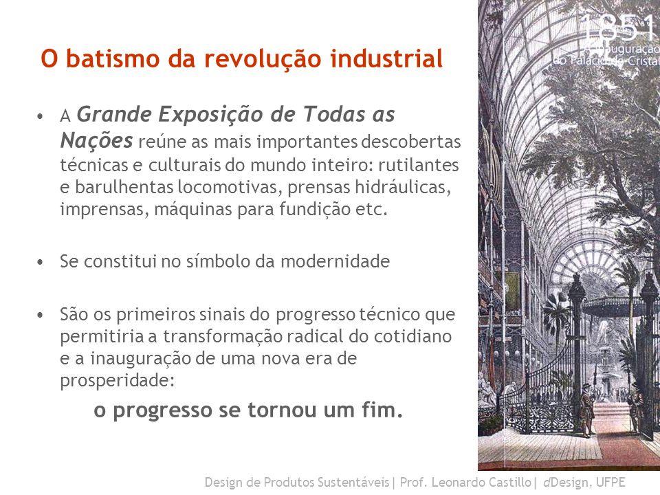 O batismo da revolução industrial
