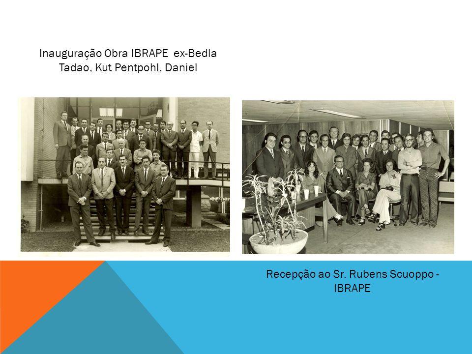 Inauguração Obra IBRAPE ex-Bedla Tadao, Kut Pentpohl, Daniel