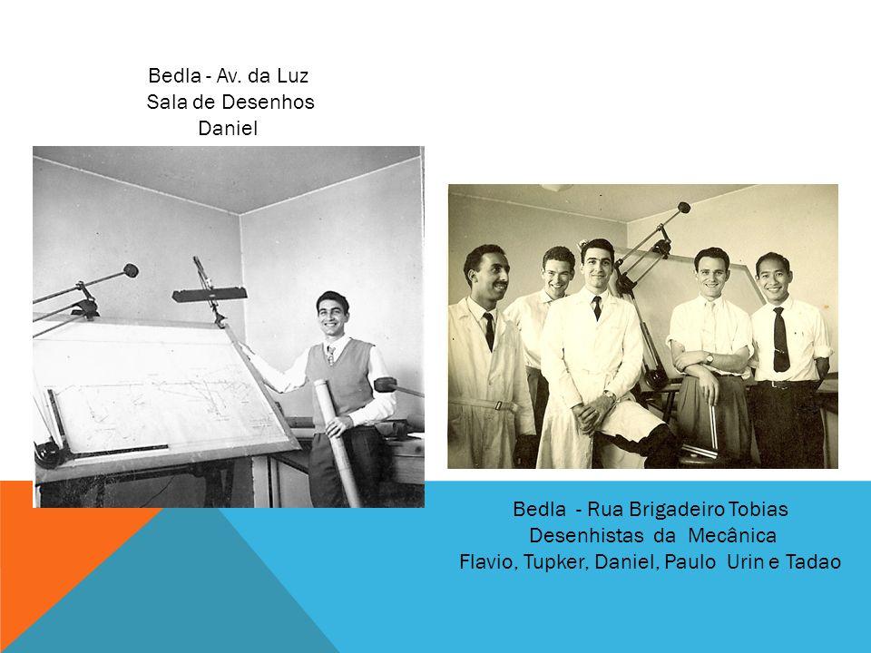 Bedla - Rua Brigadeiro Tobias Desenhistas da Mecânica