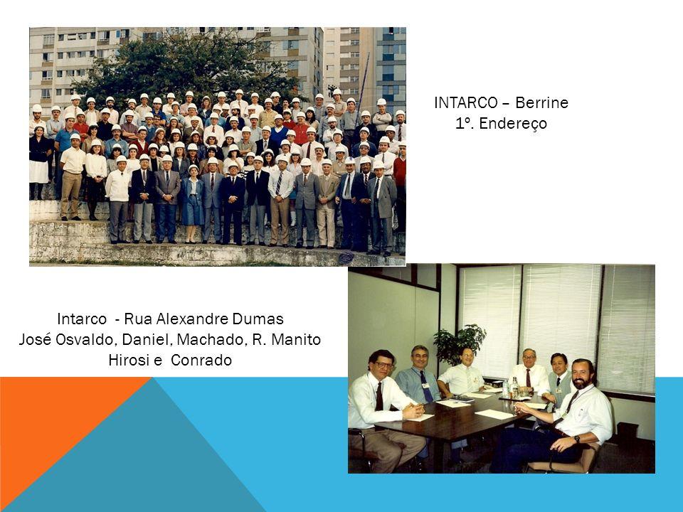 Intarco - Rua Alexandre Dumas José Osvaldo, Daniel, Machado, R. Manito