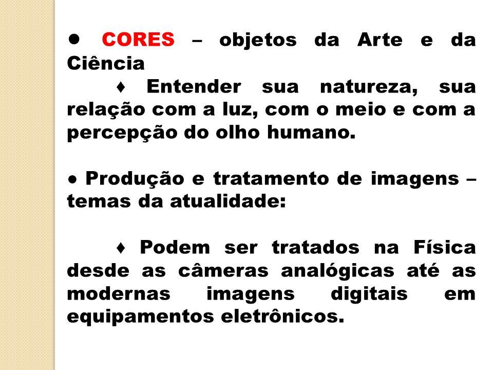 ● CORES – objetos da Arte e da Ciência