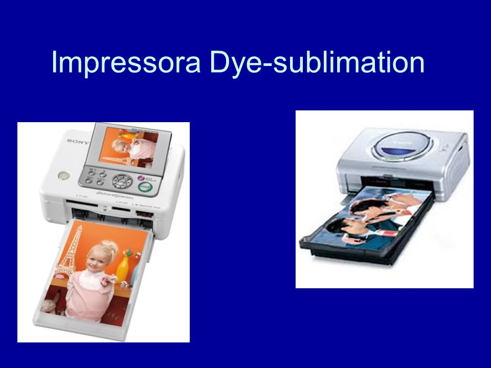 Impressora Dye-sublimation
