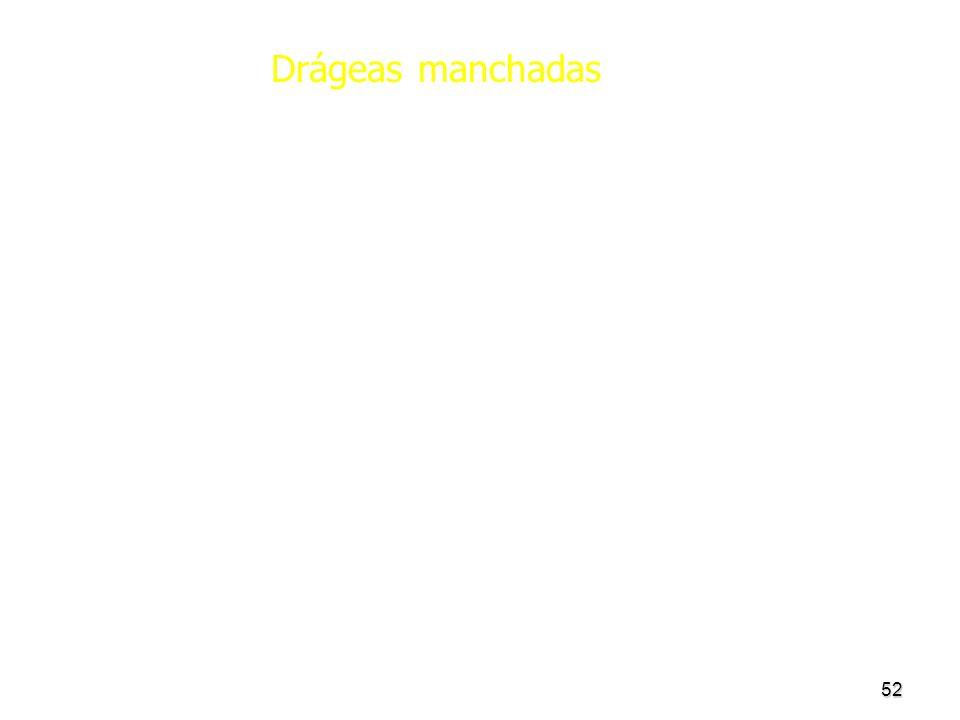 Drágeas manchadas