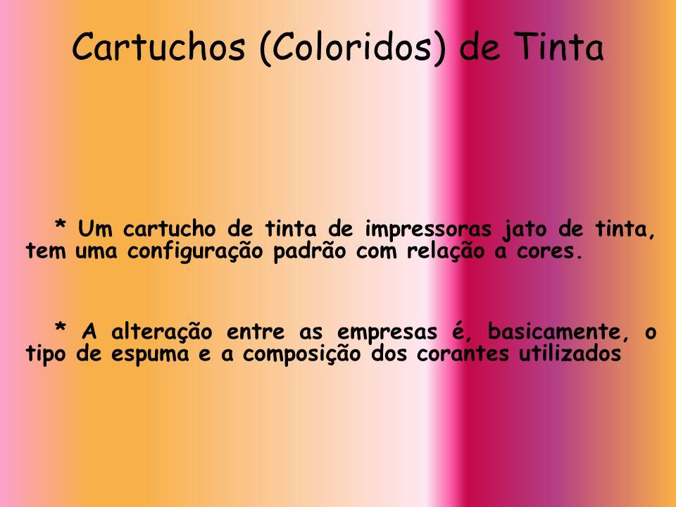 Cartuchos (Coloridos) de Tinta