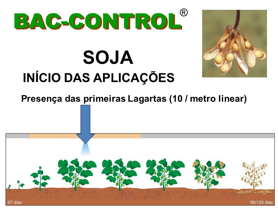 BAC-CONTROL SOJA INÍCIO DAS APLICAÇÕES ®