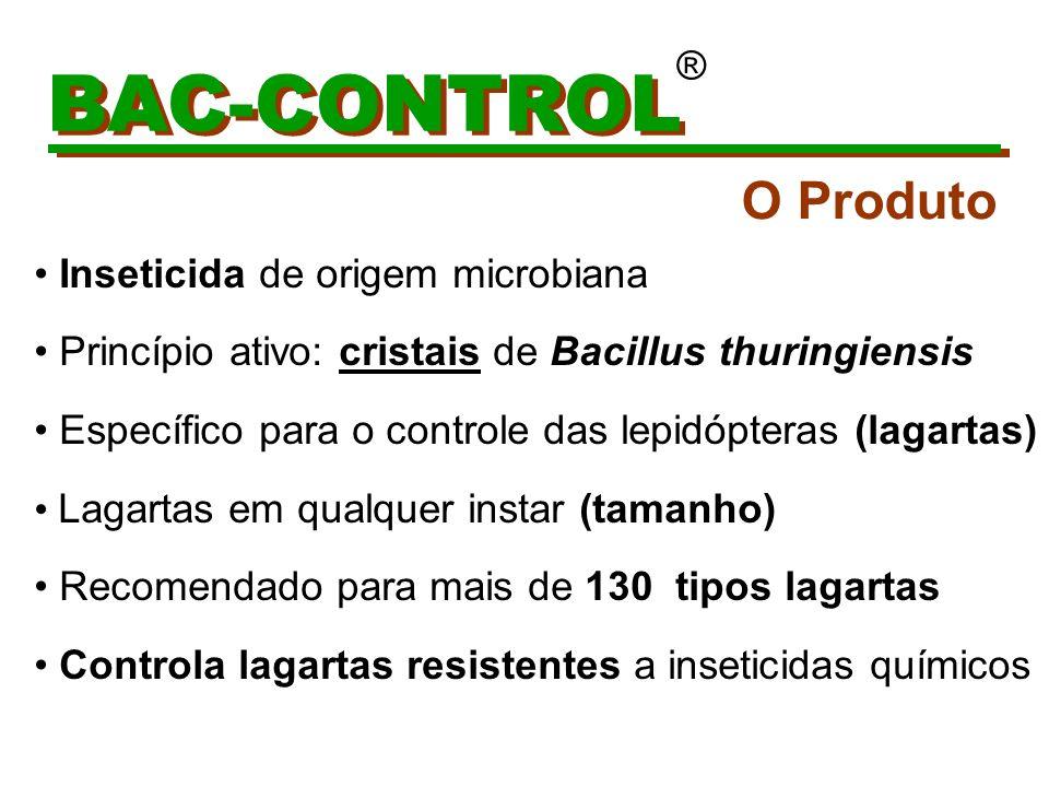 BAC-CONTROL O Produto ® Inseticida de origem microbiana
