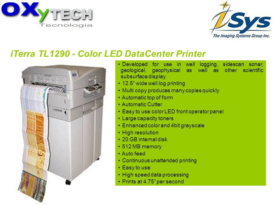 iTerra TL1290 - Color LED DataCenter Printer