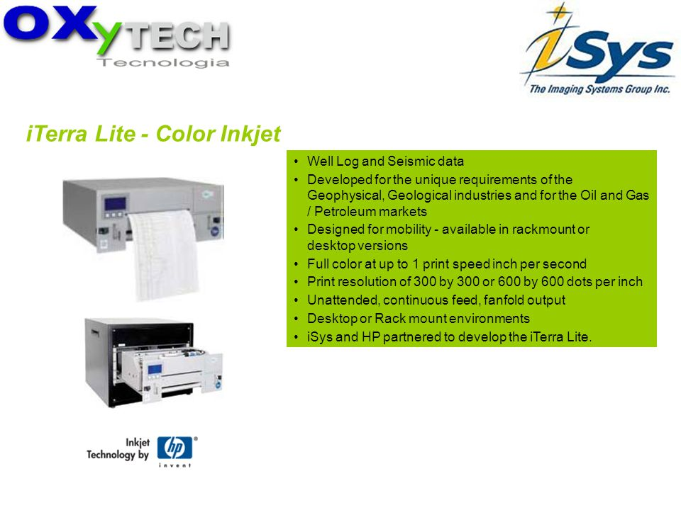 iTerra Lite - Color Inkjet