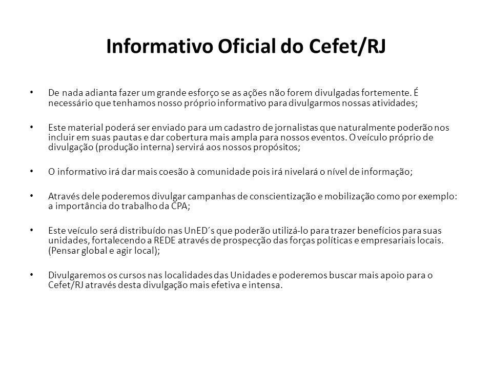 Informativo Oficial do Cefet/RJ