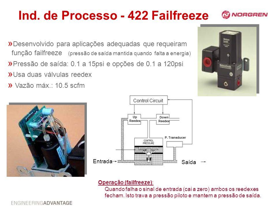 Ind. de Processo - 422 Failfreeze