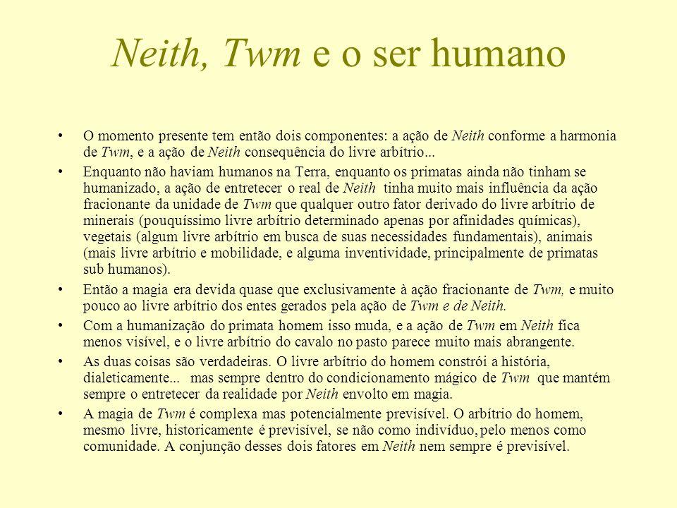 Neith, Twm e o ser humano