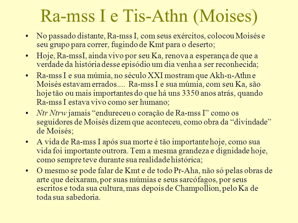 Ra-mss I e Tis-Athn (Moises)