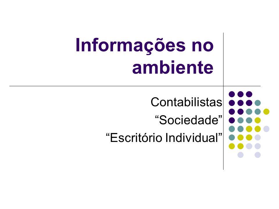 Informações no ambiente