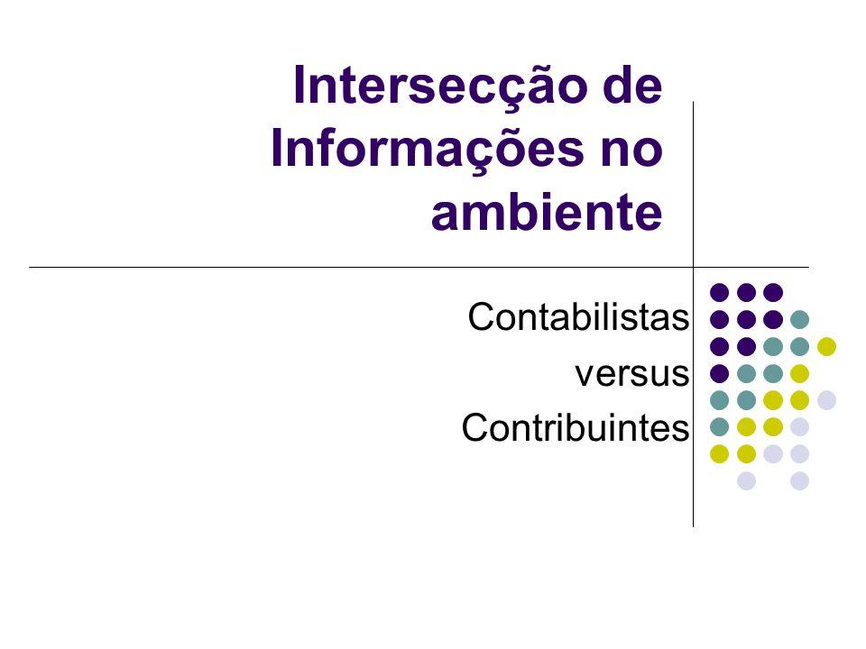 Intersecção de Informações no ambiente