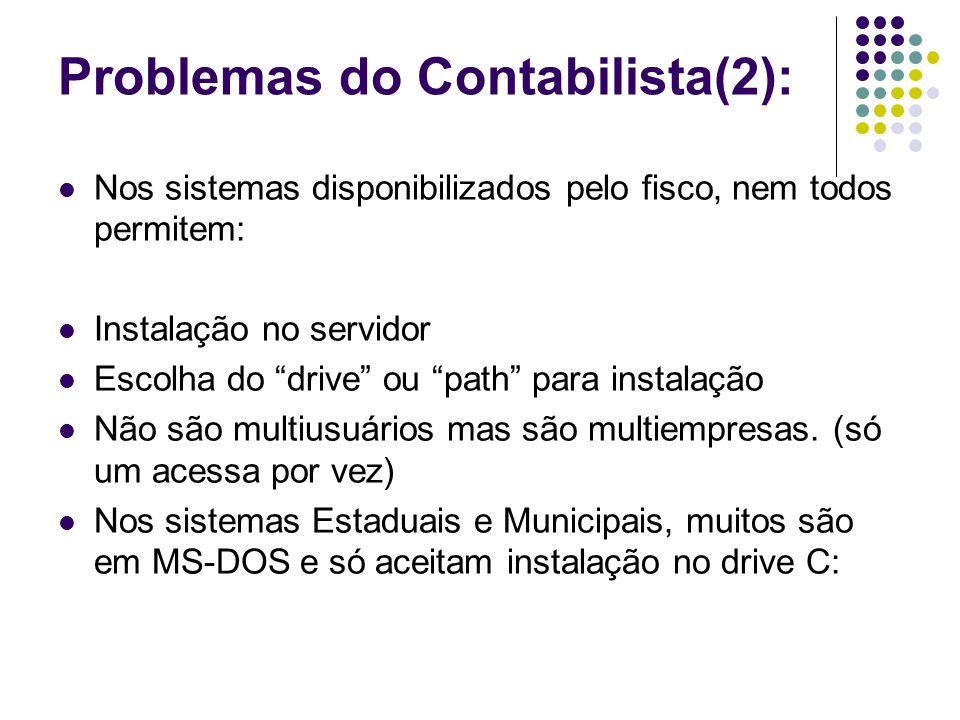 Problemas do Contabilista(2):