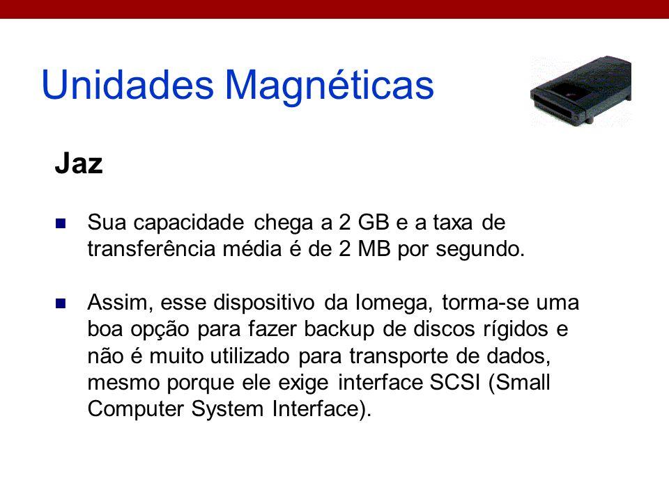 Unidades Magnéticas Jaz