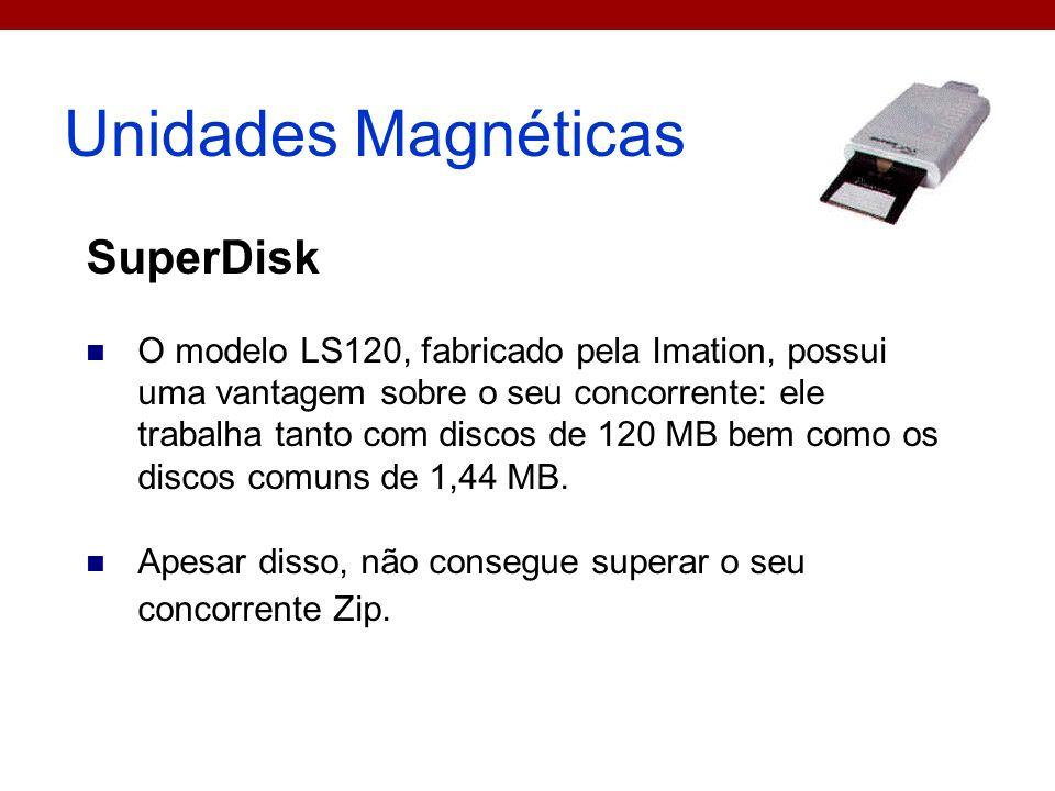 Unidades Magnéticas SuperDisk