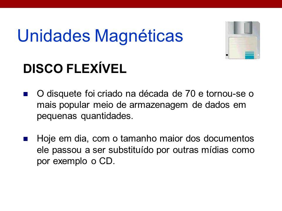 Unidades Magnéticas DISCO FLEXÍVEL