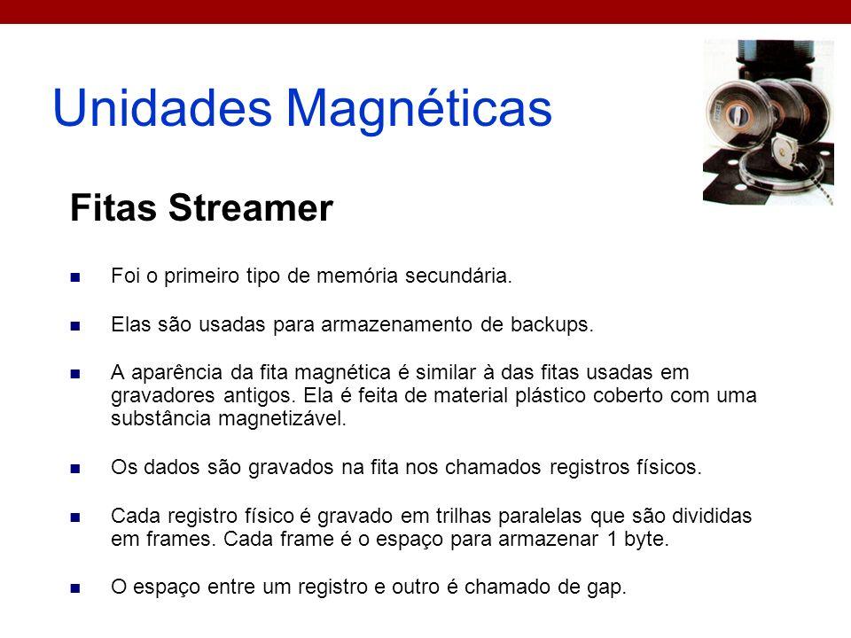 Unidades Magnéticas Fitas Streamer