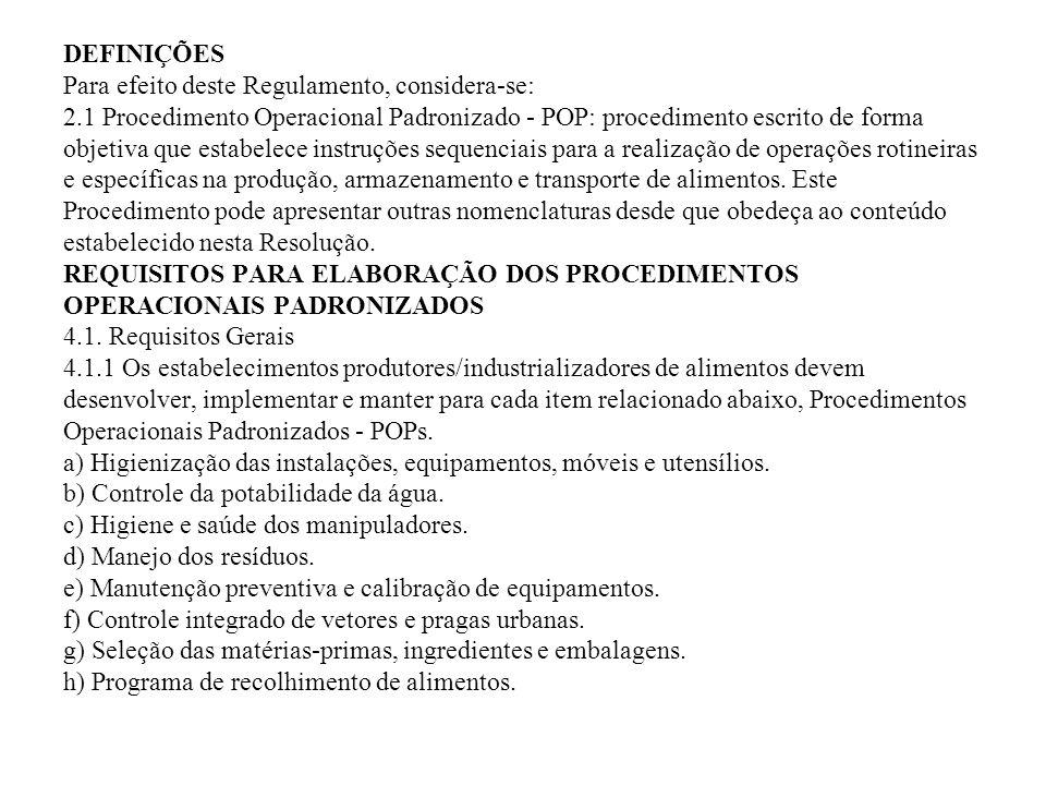 DEFINIÇÕES Para efeito deste Regulamento, considera-se: 2