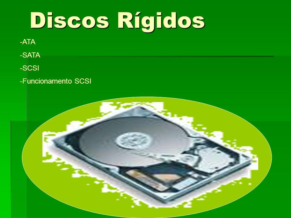 Discos Rígidos ATA -SATA -SCSI -Funcionamento SCSI