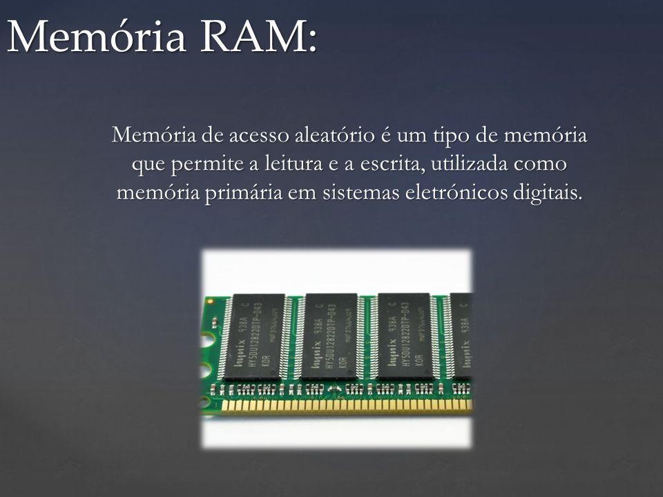 Memória RAM: