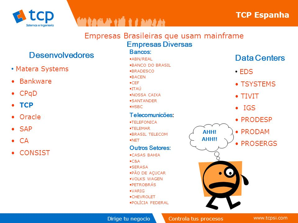 Empresas Brasileiras que usam mainframe