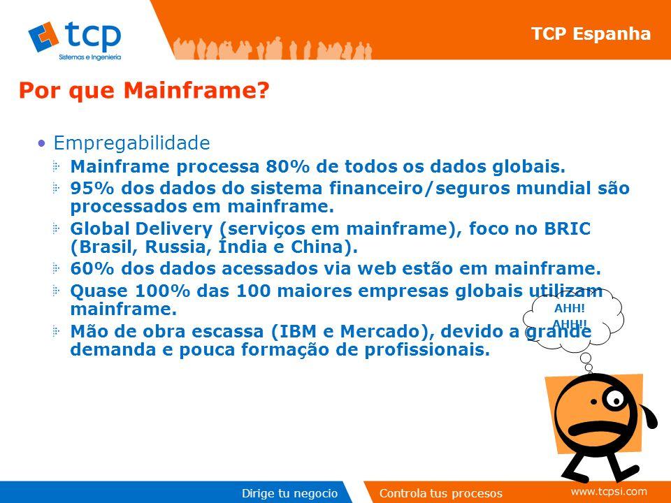 Por que Mainframe Empregabilidade TCP Espanha