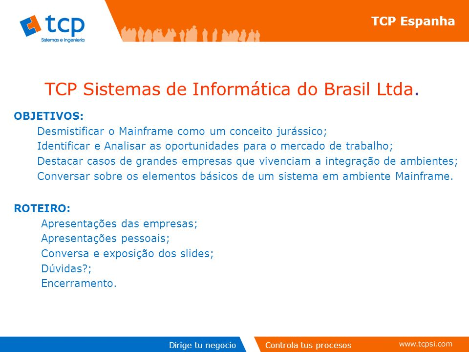 TCP Sistemas de Informática do Brasil Ltda.