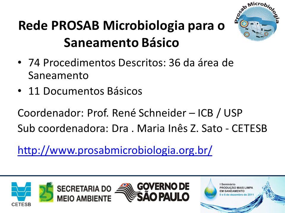 Rede PROSAB Microbiologia para o Saneamento Básico