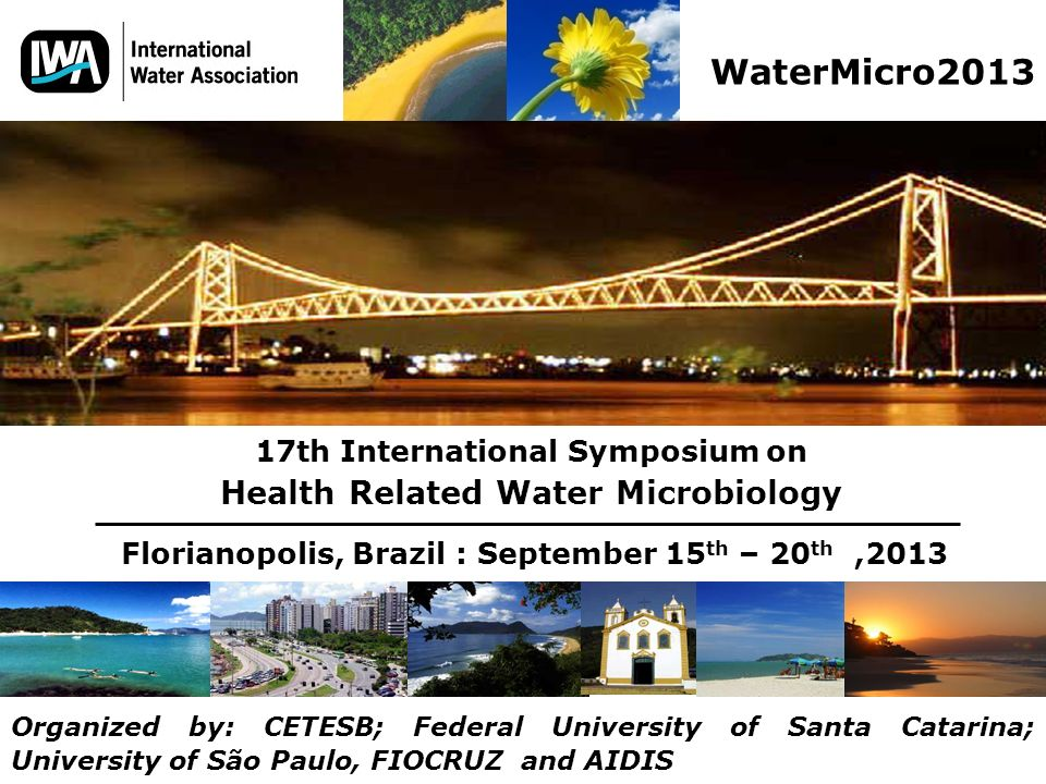 WaterMicro2013 Health Related Water Microbiology