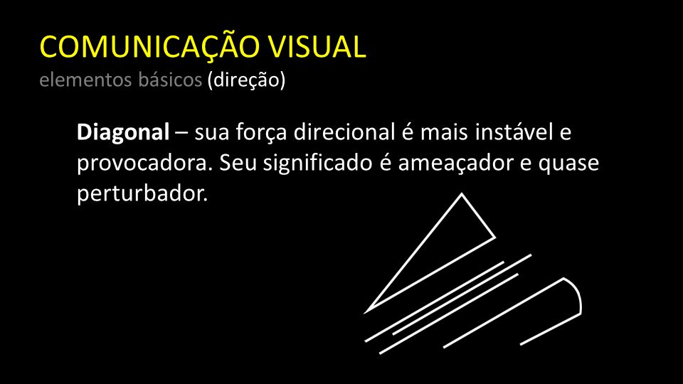 COMUNICAÇÃO VISUAL elementos básicos (direção)