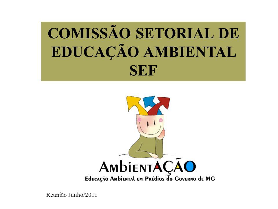 COMISSÃO SETORIAL DE EDUCAÇÃO AMBIENTAL SEF