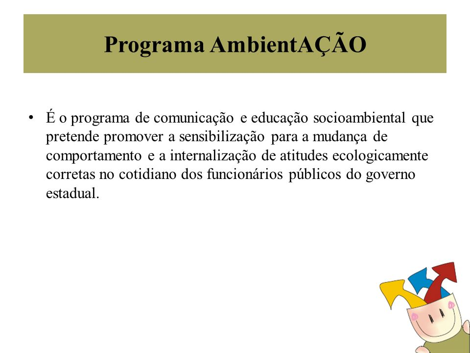 Programa AmbientAÇÃO