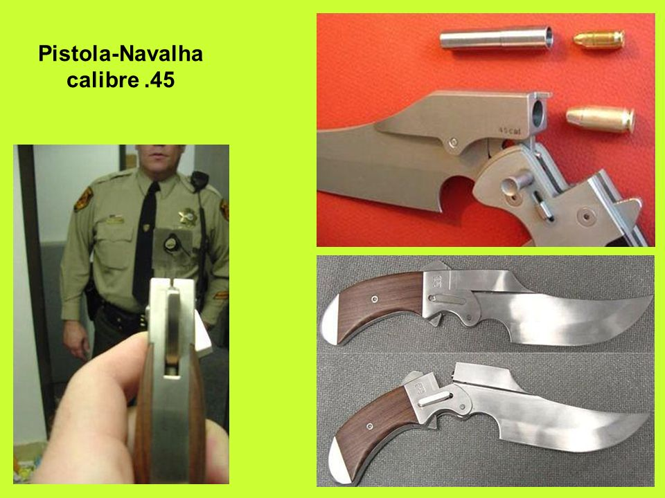 Pistola-Navalha calibre .45