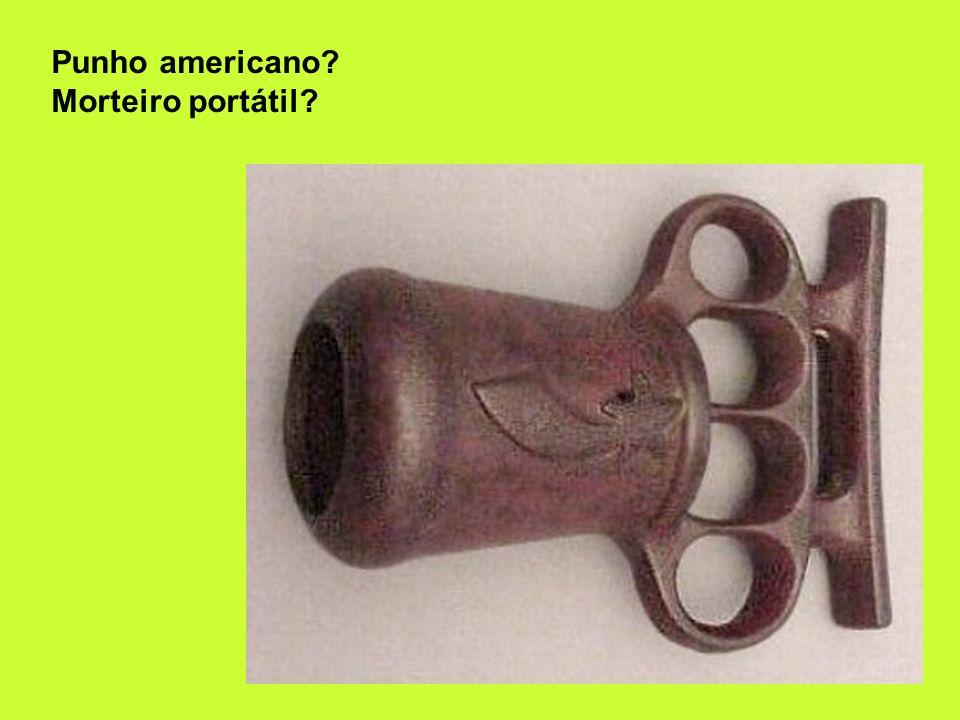 Punho americano Morteiro portátil