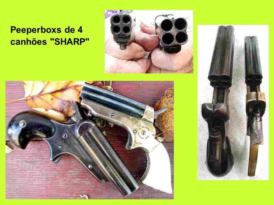 Peeperboxs de 4 canhões SHARP