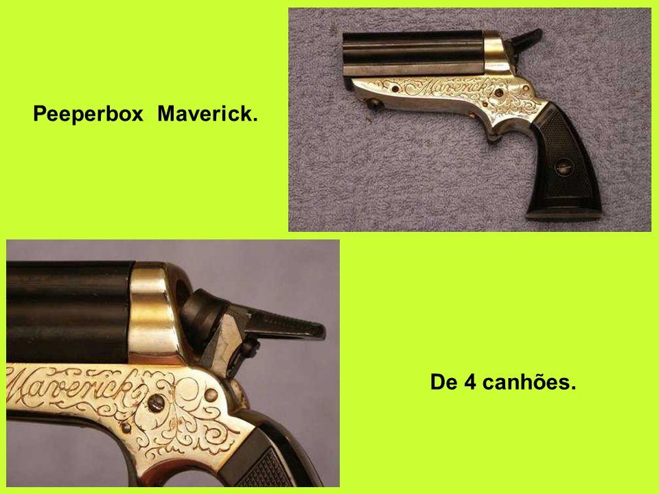 Peeperbox Maverick. De 4 canhões.
