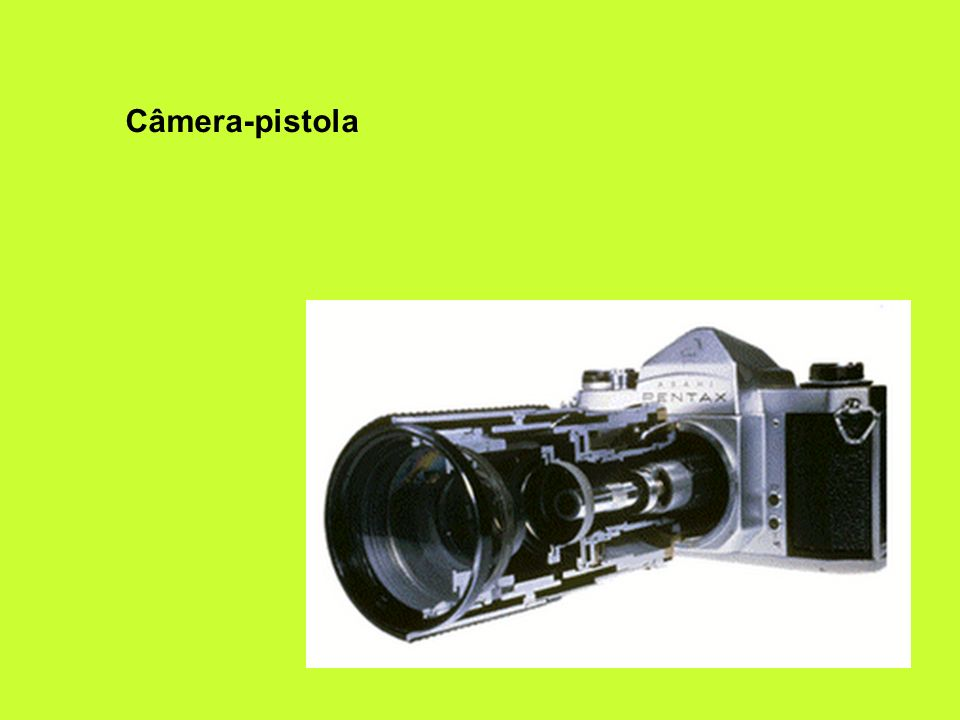Câmera-pistola